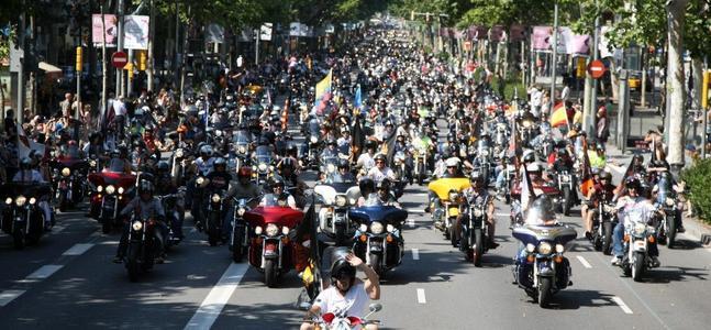 Las Palmas acoge el evento final del Tour Harley Davidson